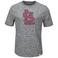Big & Tall Majestic St. Louis Cardinals Fast Pitch Slubbed Tee