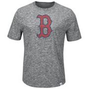 Big & Tall Majestic Boston Red Sox Fast Pitch Slubbed Tee