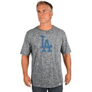 Big & Tall Majestic Los Angeles Dodgers Fast Pitch Slubbed Tee