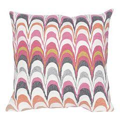 Liora Manne Visions III Floating Ink Indoor Outdoor Throw Pillow