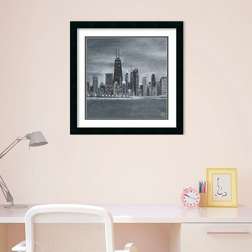 Amanti Art Chicago Framed Wall Art