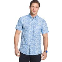 Men's IZOD Seaport Classic-Fit Performance Button-Down Shirt