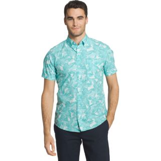 Men's IZOD Seaport Classic-Fit Performance Button-Down Shirt