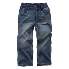 Toddler Boy Levi's Knit Light Wash Pull On Jeans