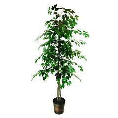 Designs by Lauren Contemporary Artificial Ficus Tree