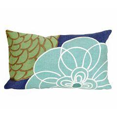 Trans Ocean Imports Liora Manne Disco Indoor Outdoor Oblong Throw Pillow