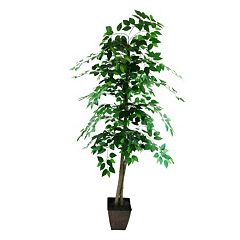 Designs by Lauren Rustic Artificial Ficus Tree