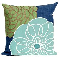 Trans Ocean Imports Liora Manne Disco Indoor Outdoor Throw Pillow