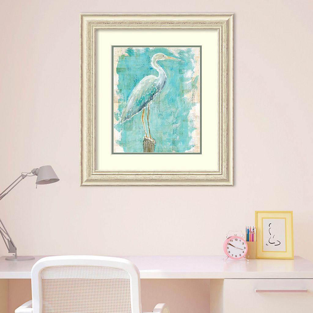 Amanti Art Coastal Egret I Framed Wall Art