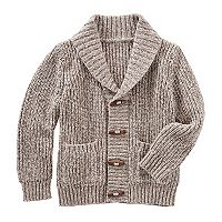 Toddler Boy OshKosh B'gosh® Shawl Collar Cardigan Sweater