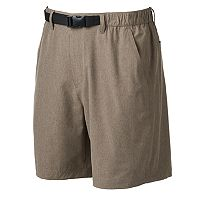 Men's Croft & Barrow® Outdoor Belted Stretch Shorts