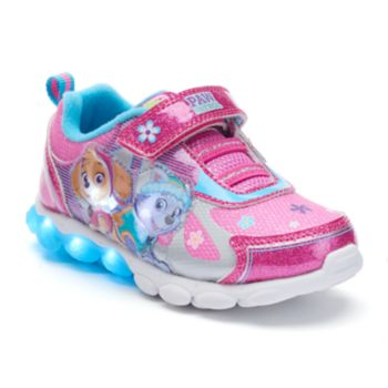 Paw Patrol Skye & Everest Toddler Girls' Light-Up Shoes