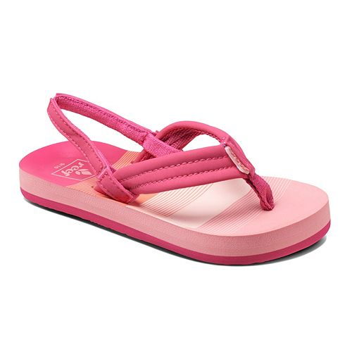 6948cd9afc37 REEF Little Ahi Toddler Girls  Sandals
