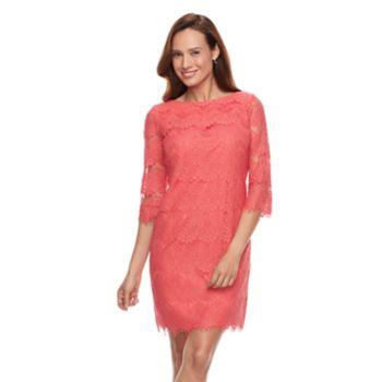 Women's Jessica Howard Lace Shift Dress