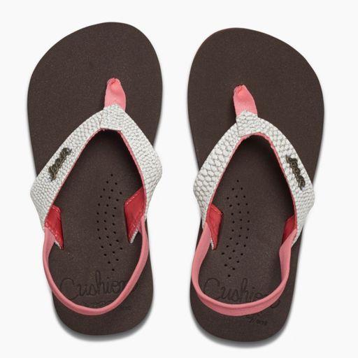 REEF Little Cushion Sassy Toddler Girls' Sandals