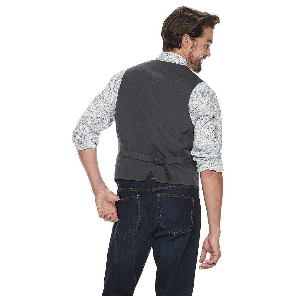 Men's Apt. 9® Modern-Fit Woven Vest
