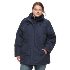 Plus Size d.e.t.a.i.l.s Anorak Jacket