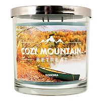 SONOMA Goods for Life™ Cozy Mountain Retreat 14-oz. Candle Jar