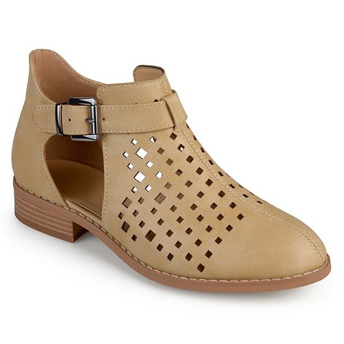 Journee Collection Neela Women's Exposed Ankle Boots