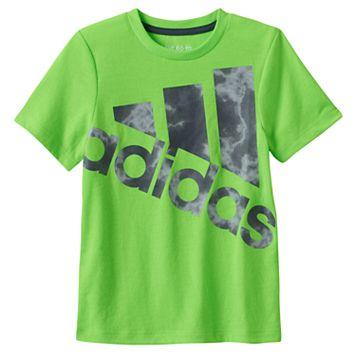Boys 4-7x adidas Smoky Logo Graphic Tee