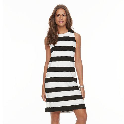 Women's Ronni Nicole Striped Shift Dress