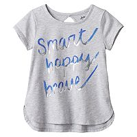 Toddler Girl Jumping Beans® Foil Graphic Cutout Tee