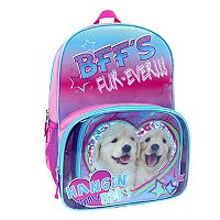 Fashion Dog Backpack & Lunch Tote Set