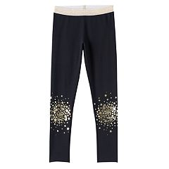 Girls 7-16 & Plus Size SO® Shiny Knee Leggings