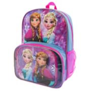 Disney's Frozen Anna & Elsa Backpack & Lunch Tote Set