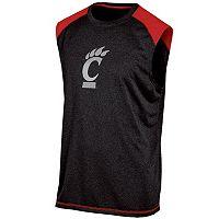 Men's Champion Cincinnati Bearcats Colorblock Muscle Tee