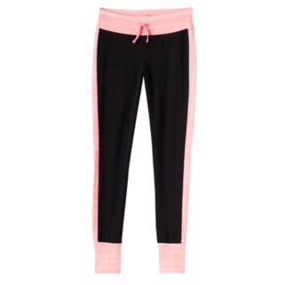 Girls 7-16 & Plus Size SO® Contrast Side Stripe & Cuff Leggings