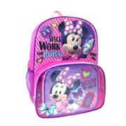 Disney's Minnie Mouse Backpack & Lunch Tote Set