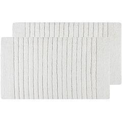 Safavieh 2-pack Channel Stripe Bath Rug Set - 21'' x 34''