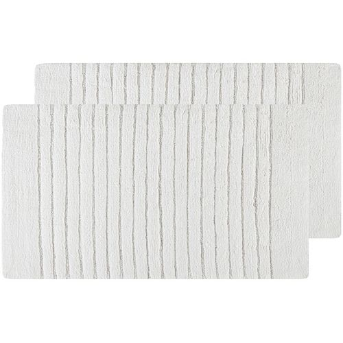Safavieh 2-pack Channel Stripe Bath Rug Set - 21'' x 34''
