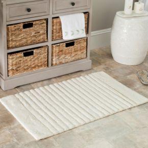 Safavieh 2-pack Channel Stripe Bath Rug Set - 27'' x 45''