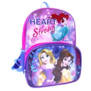Disney Princess Rapunzel, Belle & Ariel Backpack & Lunch Tote Set