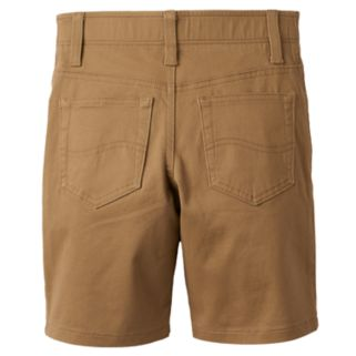 Boys 4-7x Lee Dungaree Khaki Shorts