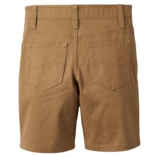 Boys 4-7x Lee Dungaree Khaki Shorts