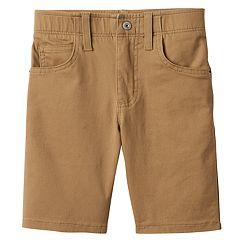 Boys 4-7x Lee Dungarees Khaki Shorts