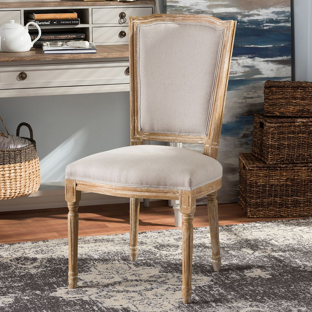 Baxton Studio Cadencia French Country Dining Chair