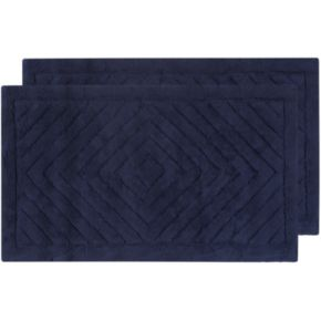 Safavieh 2-pack Marquis Diamond Geometric Bath Rug Set - 21'' x 34''