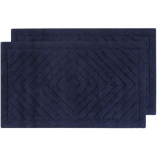 Safavieh 2-pack Marquis Diamond Geometric Bath Rug Set - 21'' x 34''