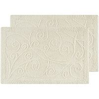 Safavieh 2-pack Vine Scroll Bath Rug Set - 27'' x 45''