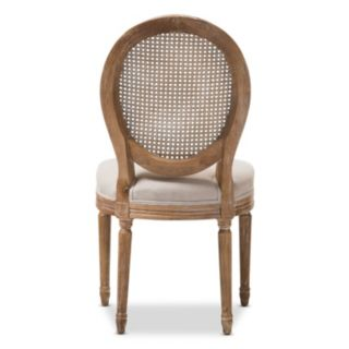 Baxton Studio Adelia French Country Dining Chair