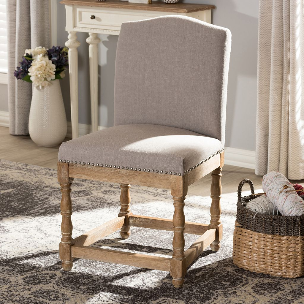 Baxton Studio Paige French Country Dining Chair