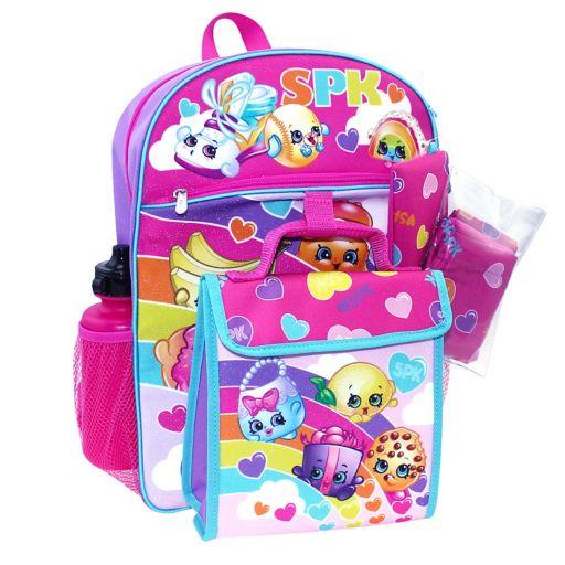 Shopkins 5-pc. Backpack Set