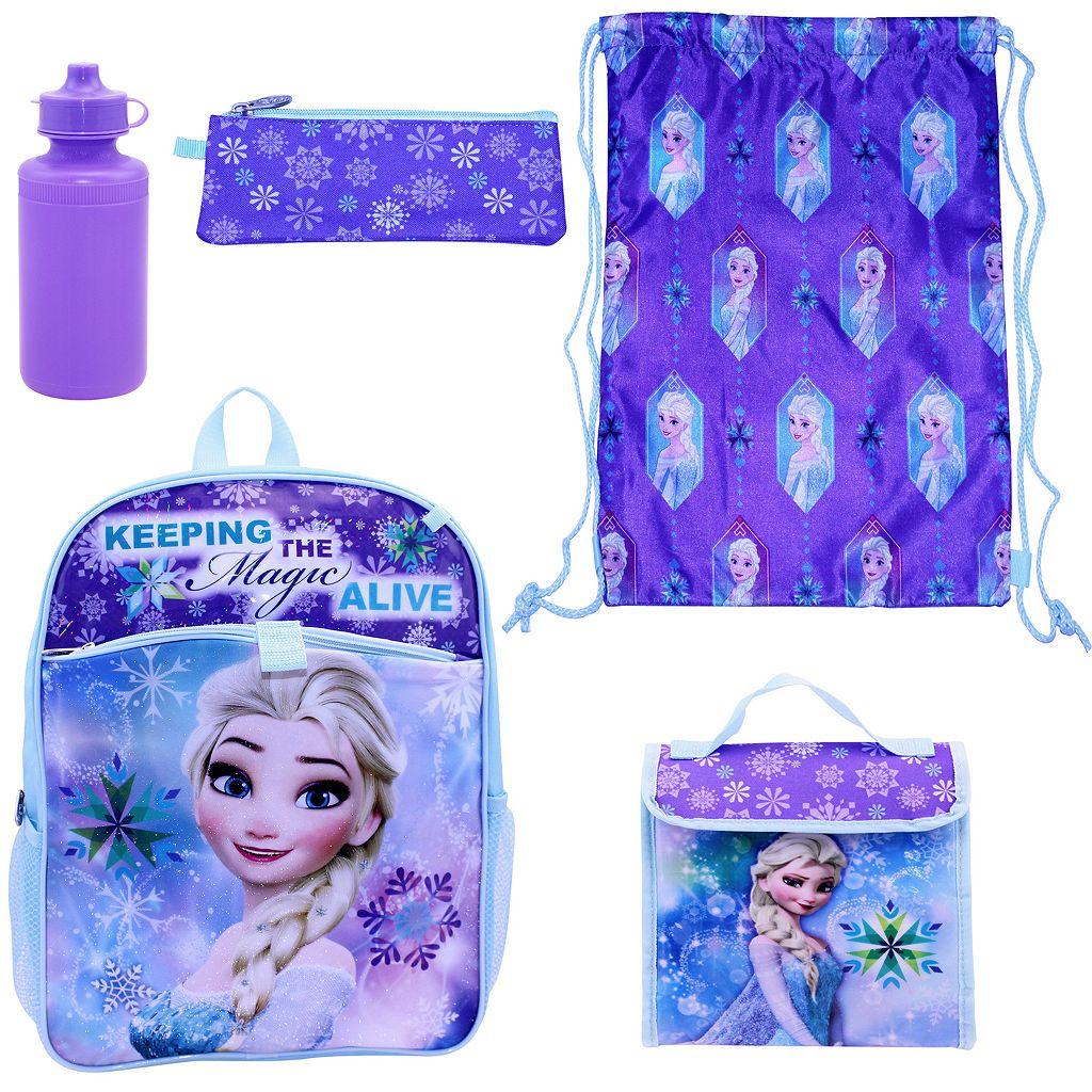 Disney's Frozen Elsa 5-pc. Backpack Set