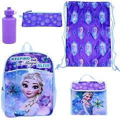 Disney's Frozen Elsa 5 pc Backpack Set