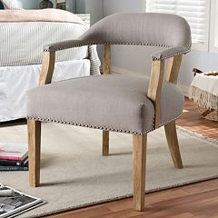 Baxton Studio Macee French Country Accent Chair