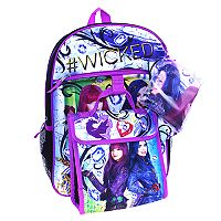 Disney's Descendants Evie & Mal 5-pc. Backpack Set